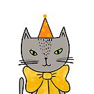 «Purrfect Birthday Cat» de Ilze Lucero