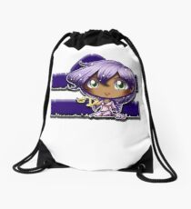 Big Head Chibi Libra Drawstring Bag