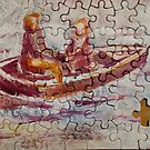 Jigsaw Puzzle Boat Ride by Paint-and-Hike