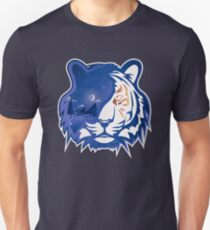 Tiger Head | Crescent Moonlight Unisex T-Shirt