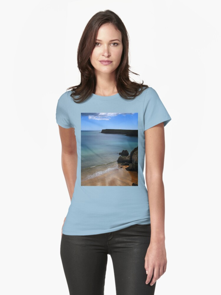 Barafundle - A Less Seen View. Womens T-Shirt Front