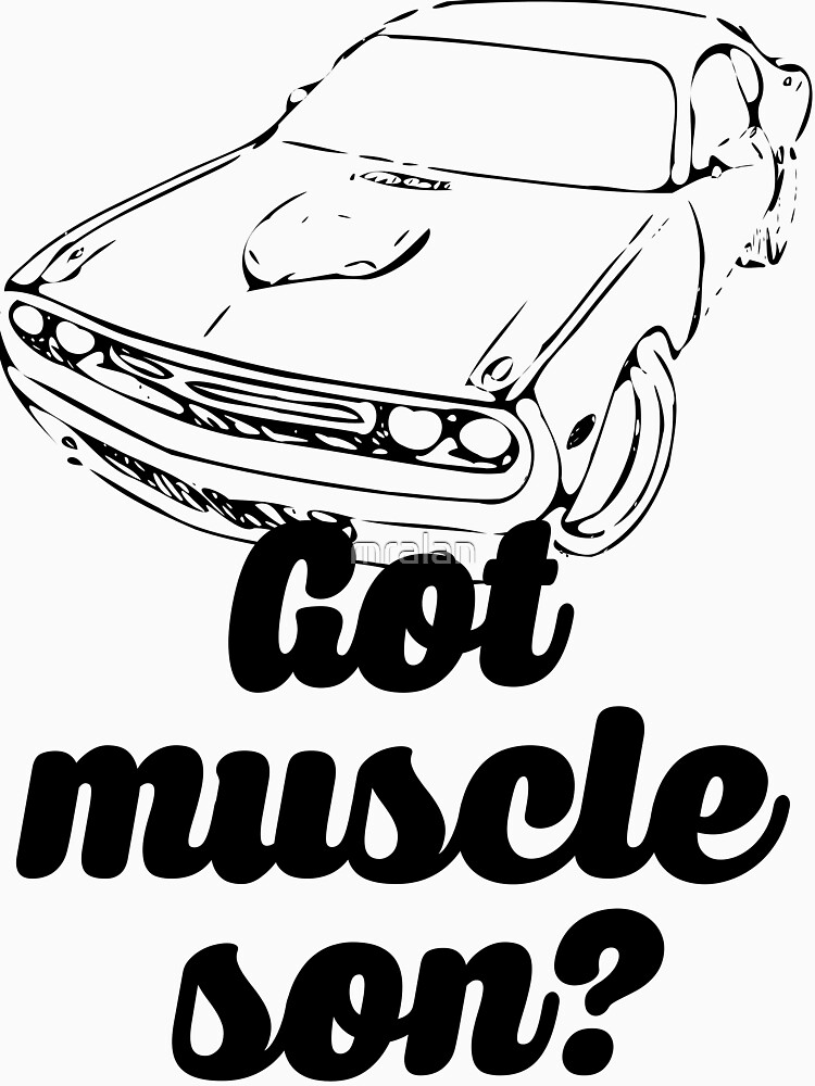 Got Muscle Son V8 Musle Car by mralan
