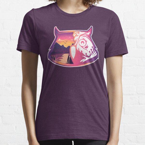 Owl Head   Sunset Mountains Essential T-Shirt