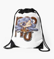 Big Head Chibi Virgo Drawstring Bag