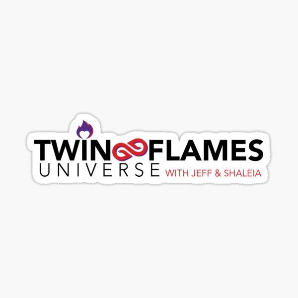 Twin Flames Universe - Classic T-Shirt Sticker
