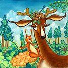 Bavarian Forest by Martina Stroebel