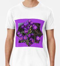 Lila Krokusstern Premium T-Shirt