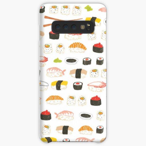 Sweet Sushi Pattern Samsung Galaxy Snap Case