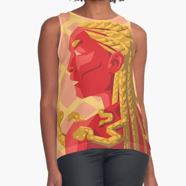 Gorgon Analogous Sleeveless Top