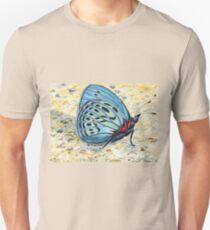 Butterfly In Blue Unisex T-Shirt