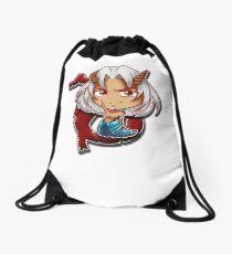 Big Head Chibi Capricorn Drawstring Bag