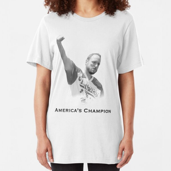 Joey Chestnut - America's Champion Slim Fit T-Shirt