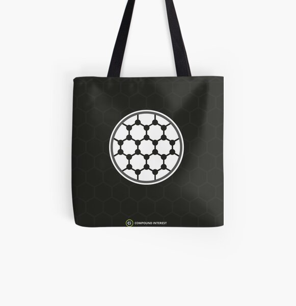Graphene: The Carbon-Based 'Wonder Material' All Over Print Tote Bag