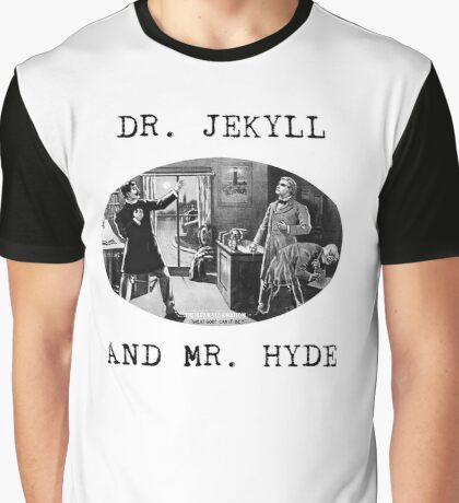 Dr. Jekyll and Mr. Hyde Graphic T-Shirt