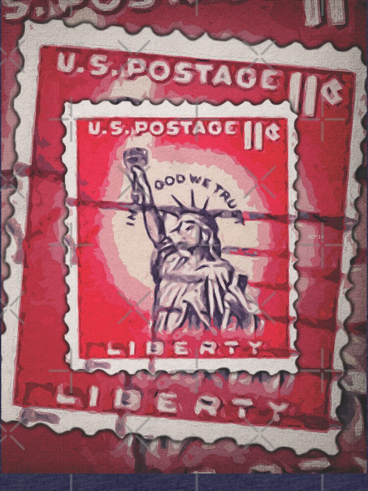 Stamp of Liberty by morningdance