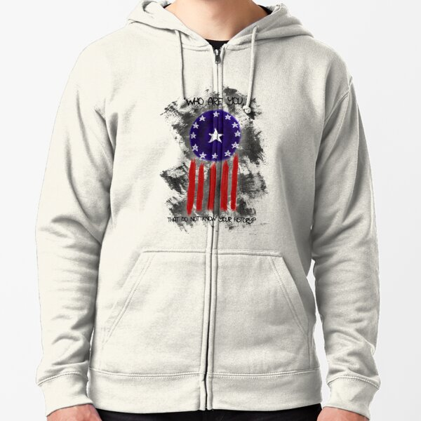 History of The Courier Zipped Hoodie