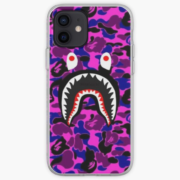 Casos púrpura del ejército Funda blanda para iPhone
