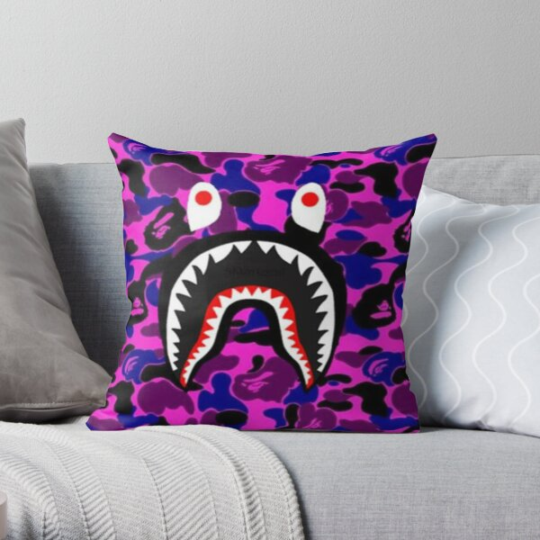 Army Purple Cases Throw Pillow
