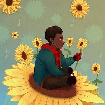 Sunflower by Wyvern-fins