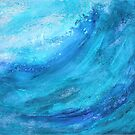 Storm out on the Sea II by Kathie Nichols