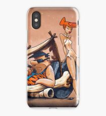 The Flintstones go Lowbrow iPhone Case/Skin