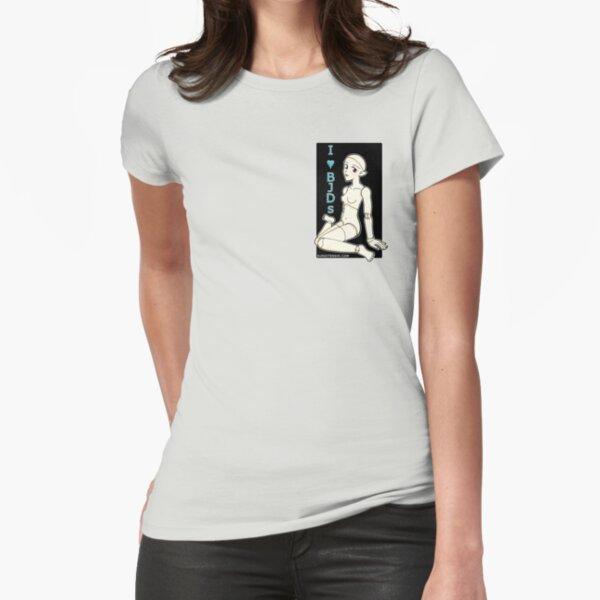 I Heart BJDs Fitted T-Shirt