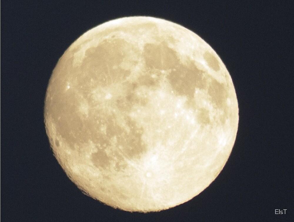 Full Moon by ElsT