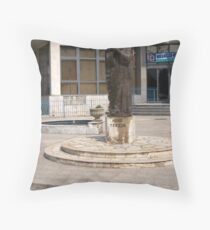 Madre Tereza Throw Pillow