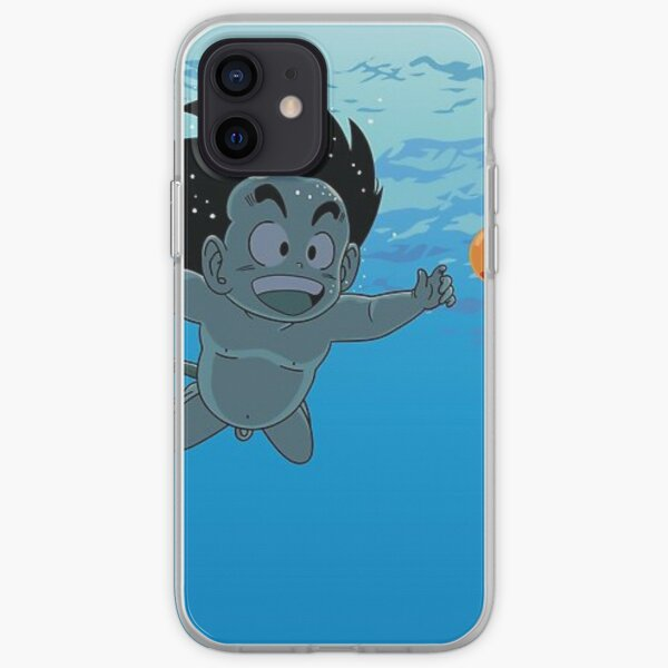 goku enfant/nirvana official  Coque souple iPhone