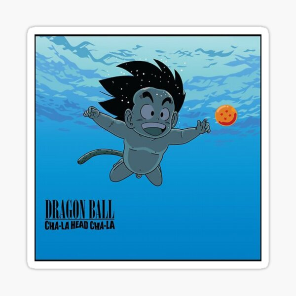 goku child / nirvana official Sticker