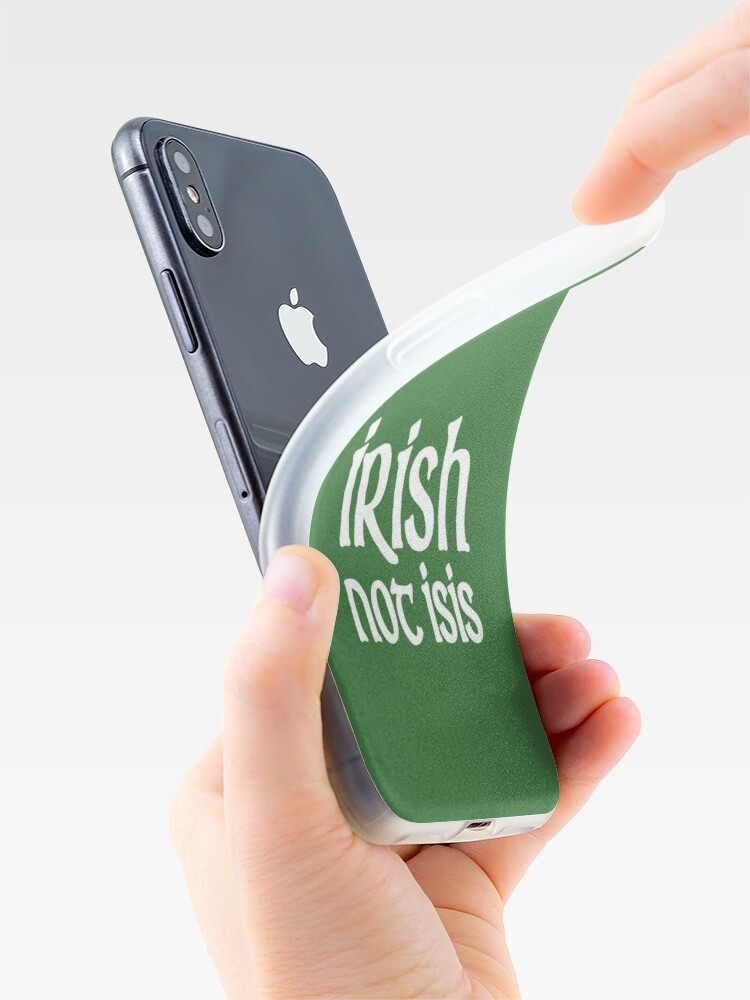 Alternate view of Irish St Patricks Day  iPhone Case & Cover