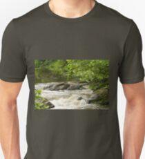 Unami Creek at Trinity Bridge #2 Unisex T-Shirt