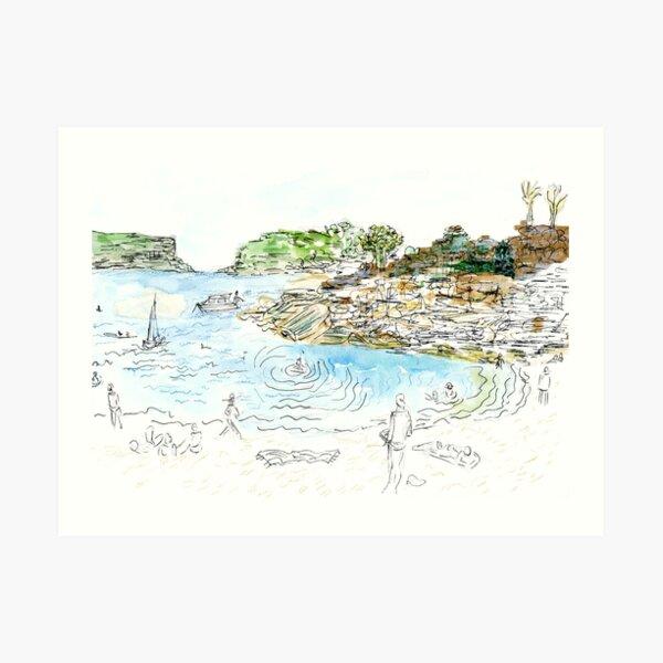 Balmoral from Bathers Pavilion Art Print