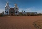 San Xavier del Bac by Richard G Witham