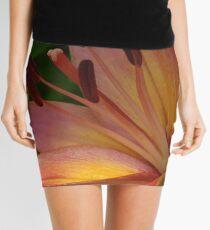 Asiatic lily - my garden Mini Skirt