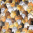 Gangs of Cat Cats Kitten Kitty Pattern by mydoodlesateme