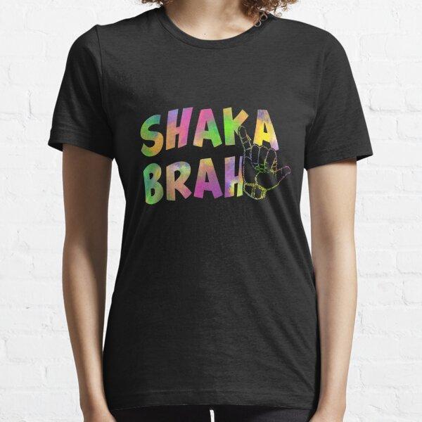 Shaka sign Good Vibes Hang Loose Aloha Gift Hawaiian Greetings Holiday T-Shirt Surf Design Essential T-Shirt