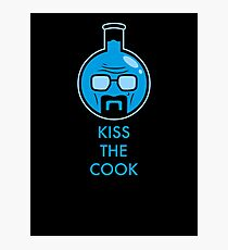 Kiss The Cook Photographic Print