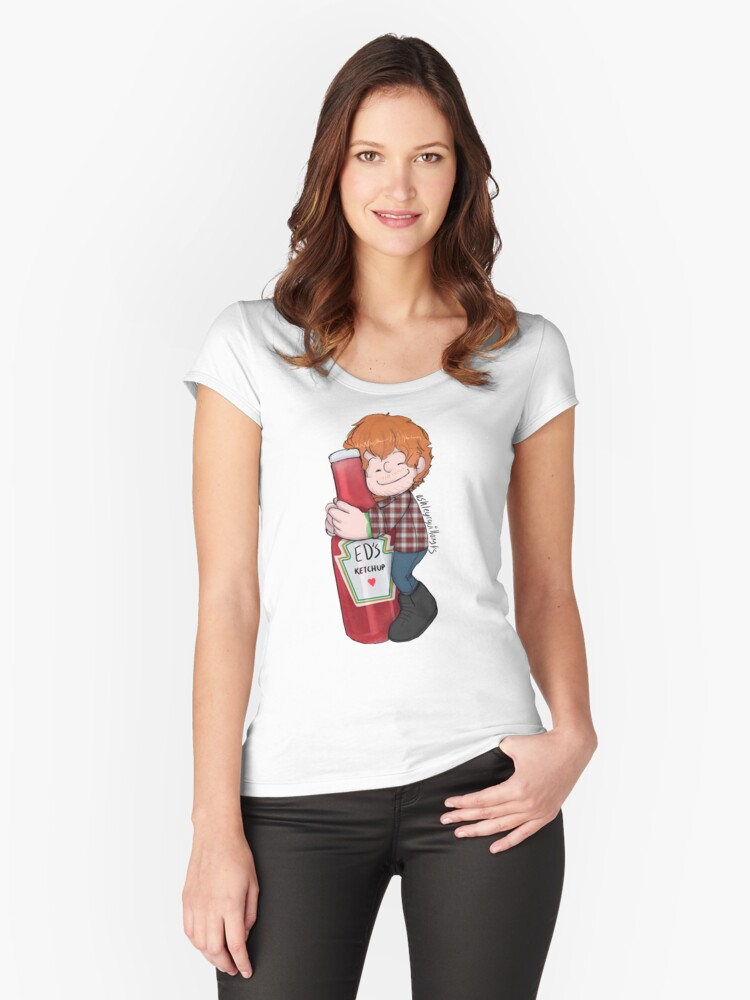 In Love Women's Fitted Scoop T-Shirt Front