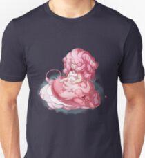 Rose und Löwe Unisex T-Shirt