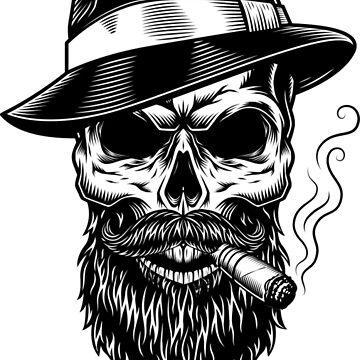 I've only got a beard I'm not a gangster  by netrok