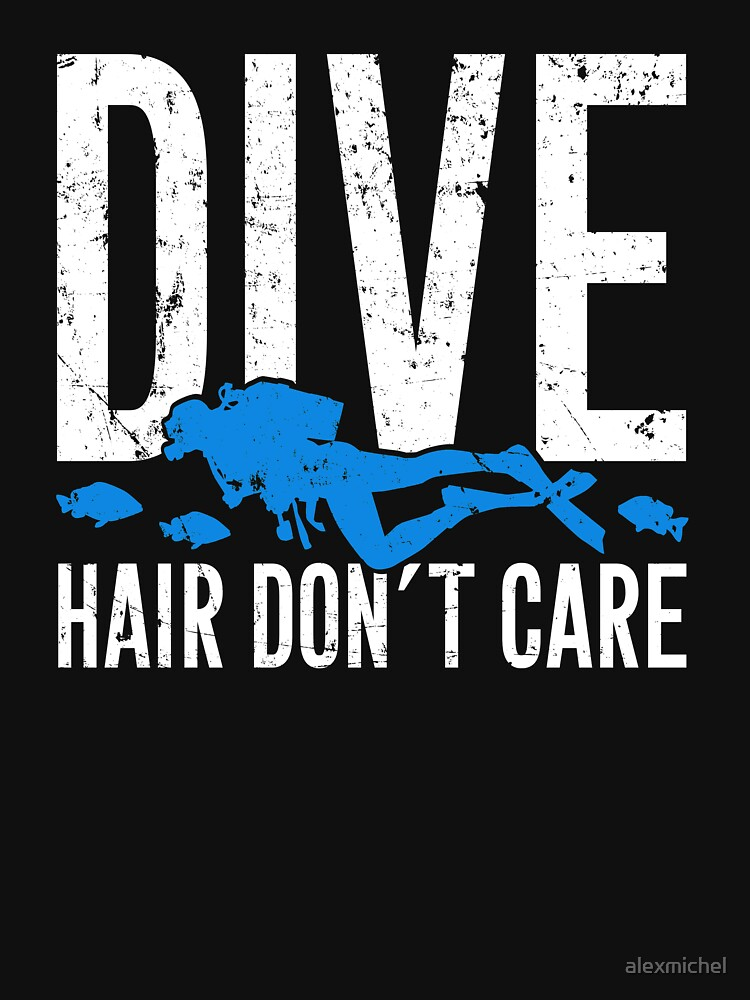 Dive hair don't care - Scuba diving by alexmichel