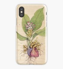 Turmeric Heart iPhone Case