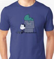 Camiseta ajustada Llamada de Snoophulhu