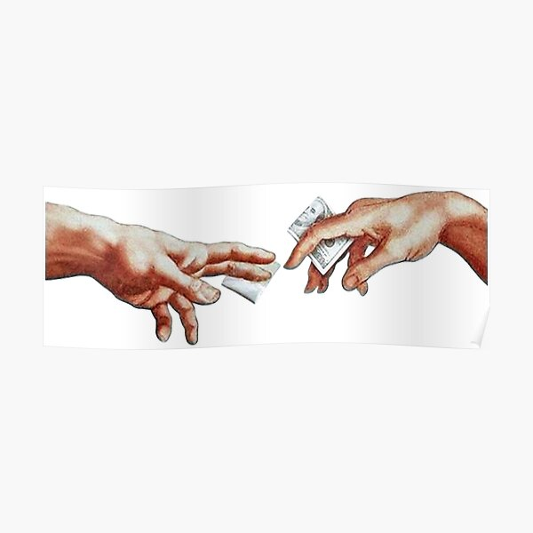 The Creation of Adam Poster