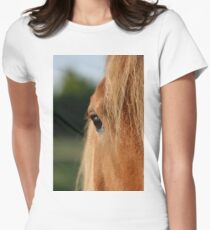 Eyes to behold! Women's Fitted T-Shirt