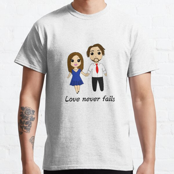 Jeff and Shaleia - Love Never Fails Classic T-Shirt