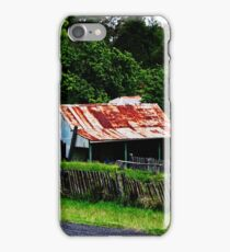 Old Cottages, Hill End iPhone Case/Skin