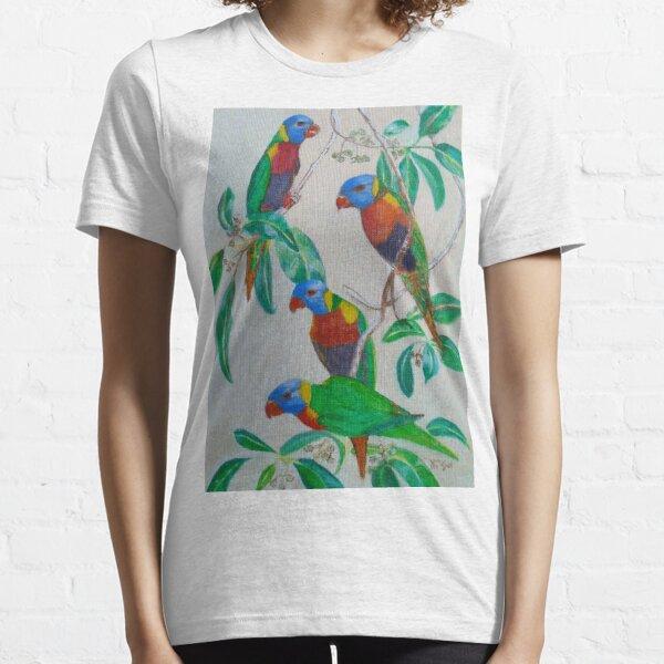 Tropical birds relaxing Essential T-Shirt