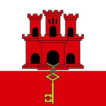 Gibraltar Flag  by sweetsixty